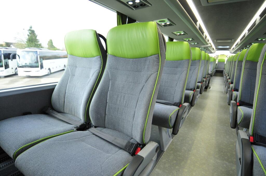 Exempel på Flixbus säten